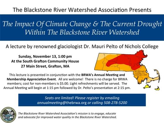 BRWA Annual Meeting November 13, 2016 1:00 pm