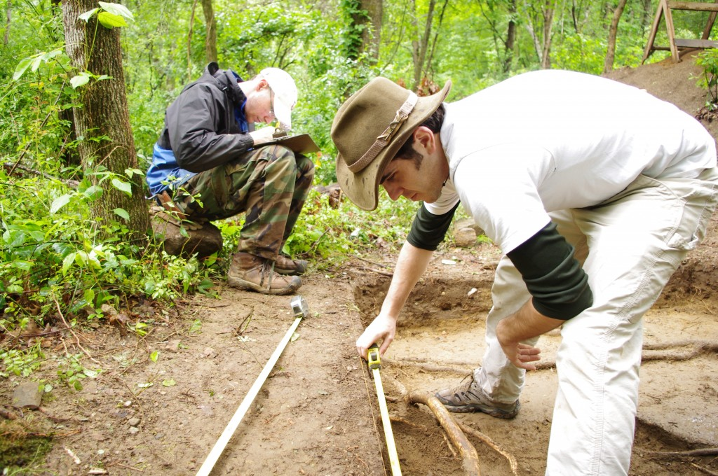 Archaeologists at Hassanamesit Woods