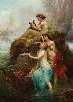 Symphony of the Nymphs by Hans Zatzka